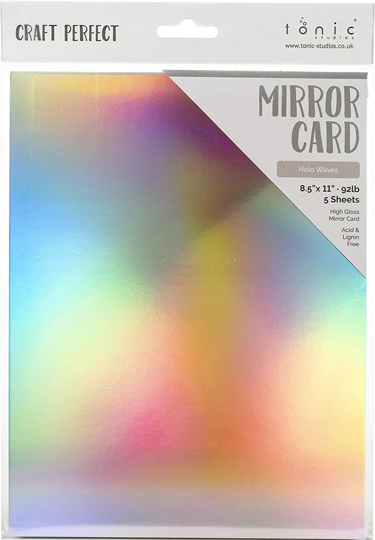 Tonic Studios Craft Perfect Mirror Cardstock 92lb 8.5