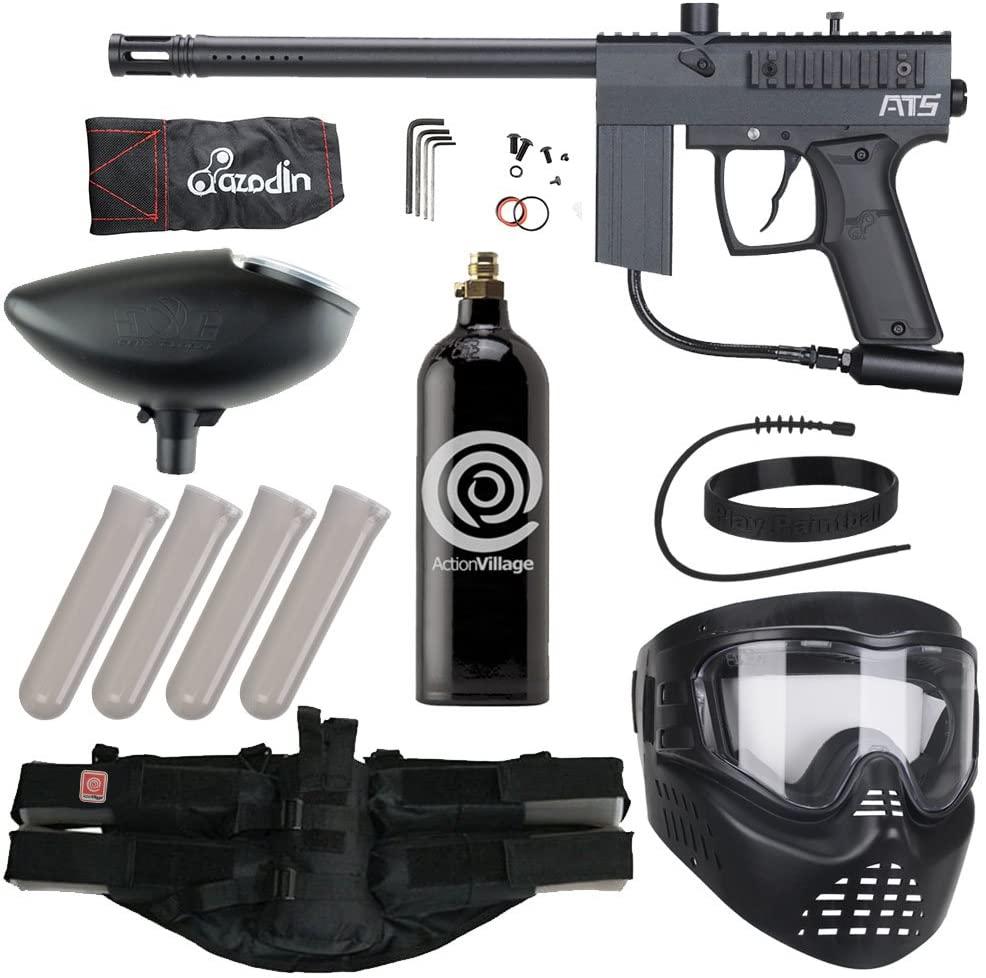 Action Village Azodin Epic Paintball Gun Package Kit (ATS) (Black)