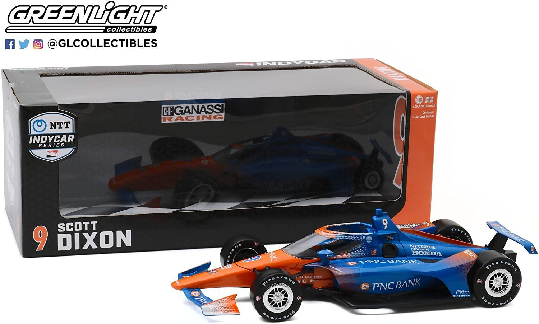 GreenLight 11091 2020#9 Scott Dixon IndyCar Diecast Model Car 1:18
