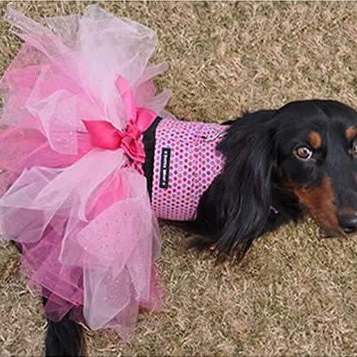 Blue Sky Collection Glitter Pink Dog Tutu