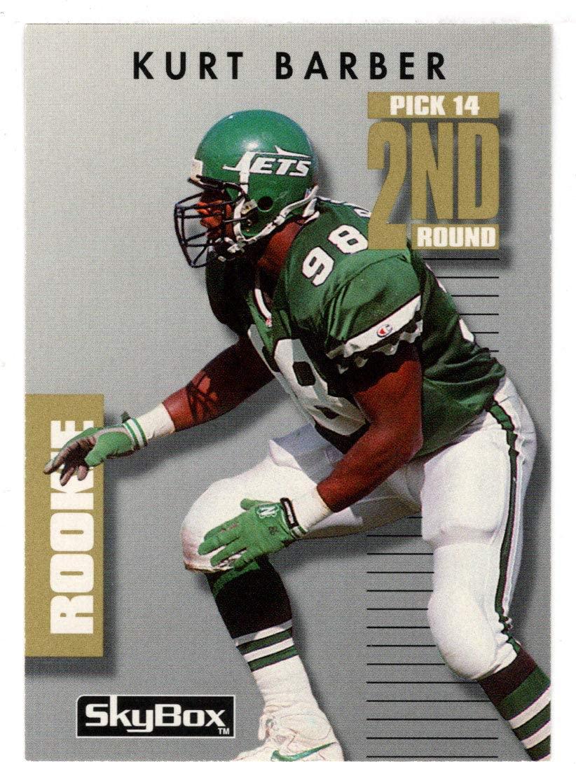 Kurt Barber RC - New York Jets (Football Card) 1992 Skybox Prime Time # 282 Mint