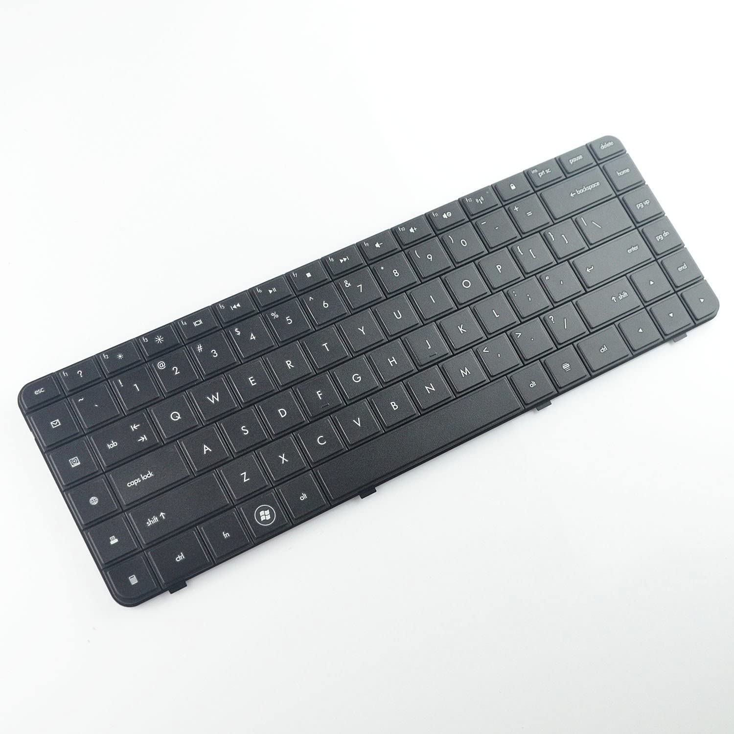 New Keyboard for HP Compaq Presario CQ57 CQ-57 CQ57- 229wm CQ57-214nr CQ57-310us CQ57-319WM CQ57-339WM QE264UA CQ57-410US A7A49UA US KeyboardUS Layout PCRepair