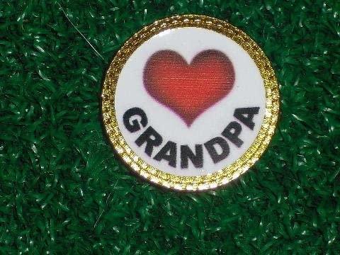 Gatormade Personalized Golf Ball Marker Love Grandpa