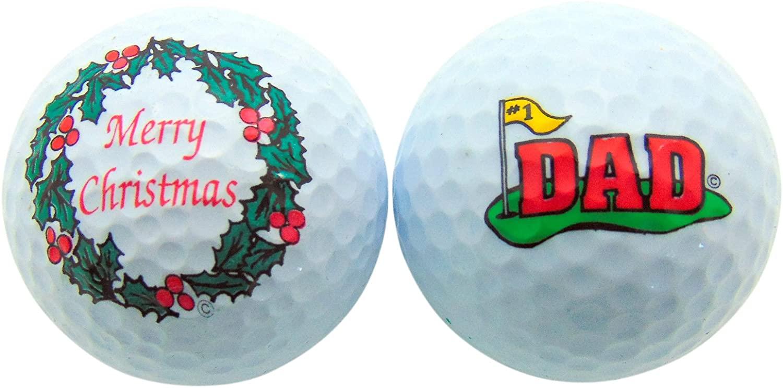 Westman Works Merry Christmas Dad Golf Ball Gift Set