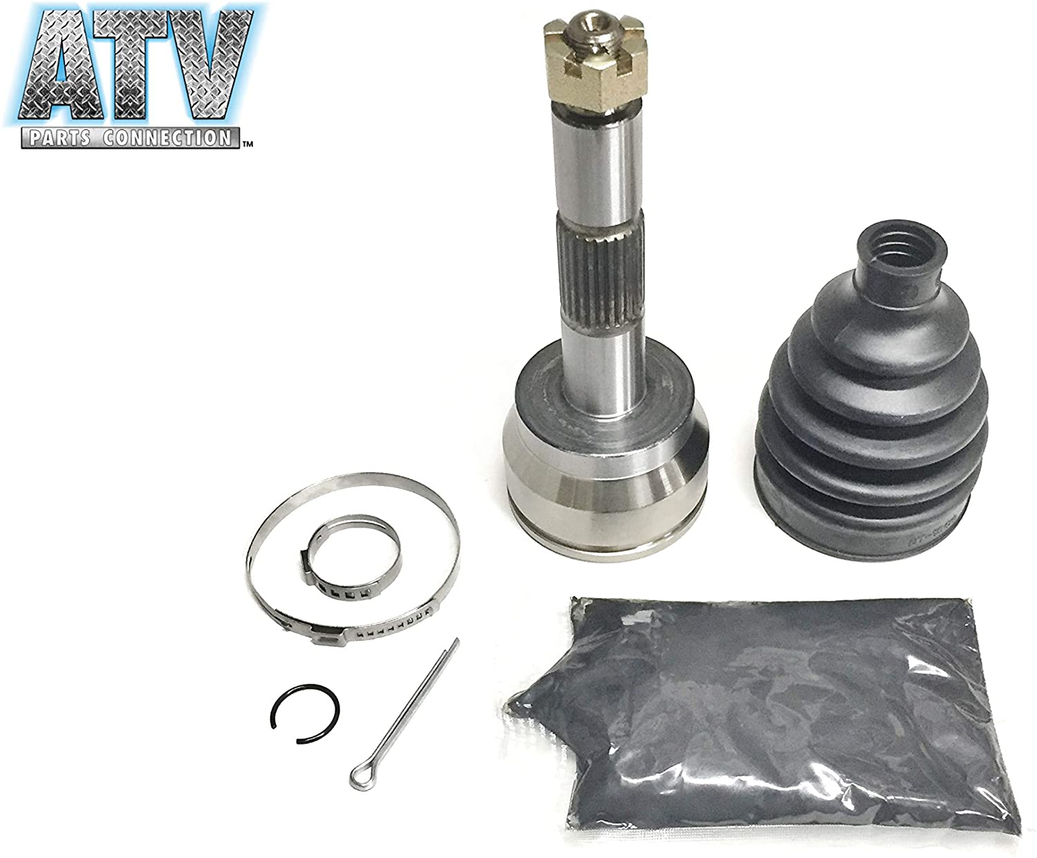 ATVPC Front Outer CV Joint Kit for Polaris ATV, fits 1380099, 1380119