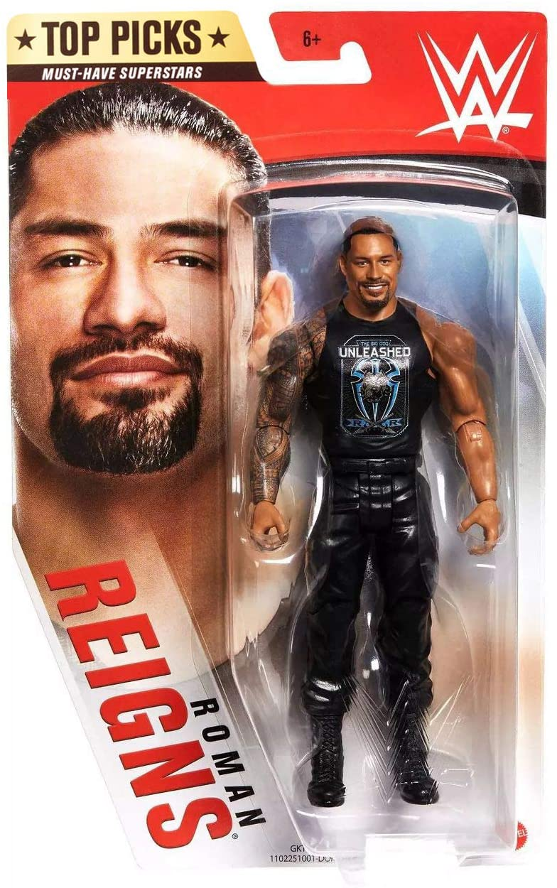 WWE Top Picks 6-inch Action Figures with Articulation & Life-Like Detail