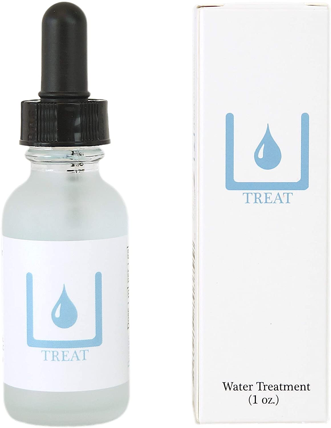 Treat, Tap Water Conditioner, 1oz Dropper Bottle for Betta Aquariums