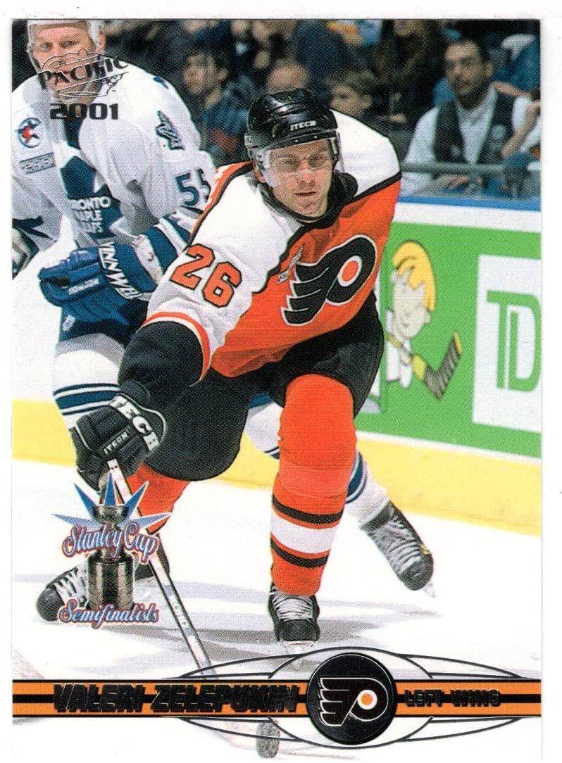 Valeri Zelepukin - Philadelphia Flyers (Hockey Card) 2000-01 Pacific # 310 Mint