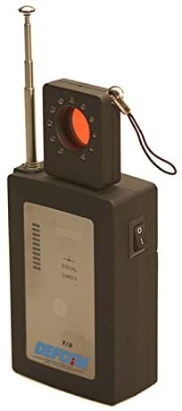 DefCon Security Products DD802 Law-Grade Counter Surveillance PRO Sweep 10GHz - Equipped with Both RF Detection and a Camera Lens Finder. Handheld Sweep Detects All Active GPS Live Trackers