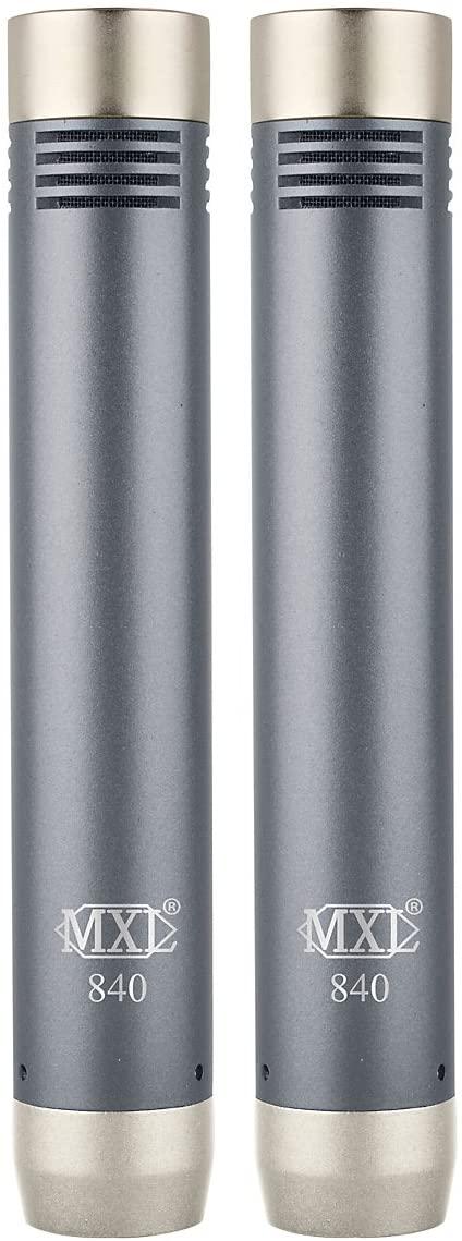 MXL 840 PAIR Small Diaphragm Instrument Microphones (Pair)