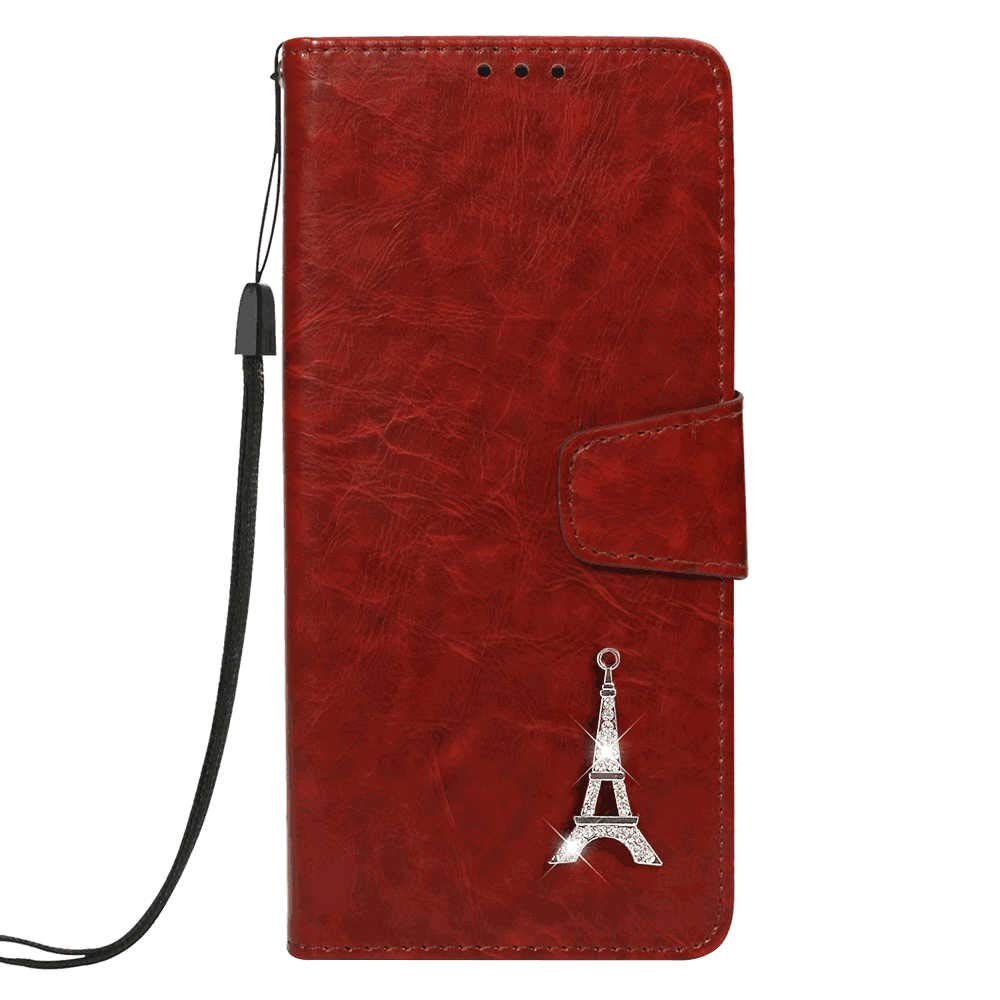 Samsung Galaxy S10 Flip Case, Cover for Samsung Galaxy S10 Leather Card Holders wallet Cover Extra-Shockproof Business Kickstand with Free Waterproof-Bag