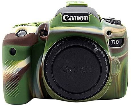 ZQ House Soft Silicone Protective Case for Canon EOS 77D (Color : Color1)