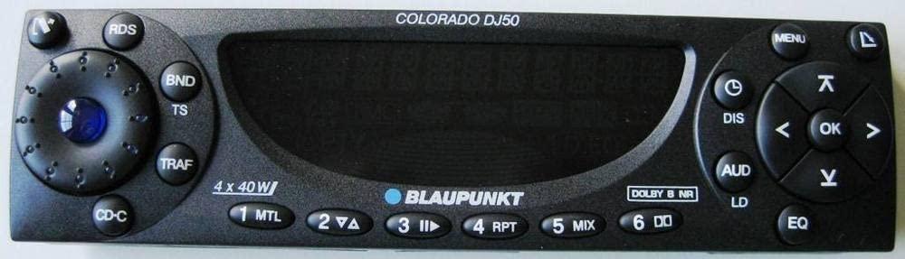 BLAUPUNKT COLORADO DJ50 radio control unit spare parts 8636594361
