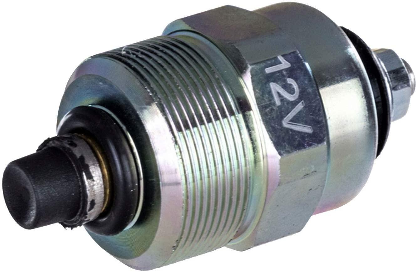 Notonparts Fuel Pump Solenoid 26420518 26439013 For Perkins 1006 Engine 1104C-44 1006-60T 1006-60TW