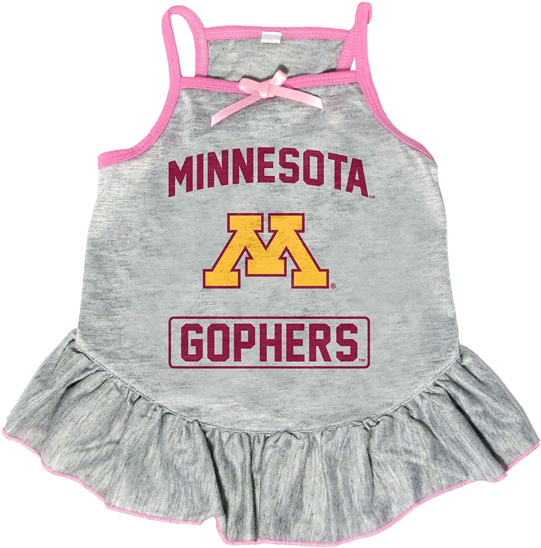 Littlearth NCAA Minnesota Golden Gophers Pet Dress, Extra Small