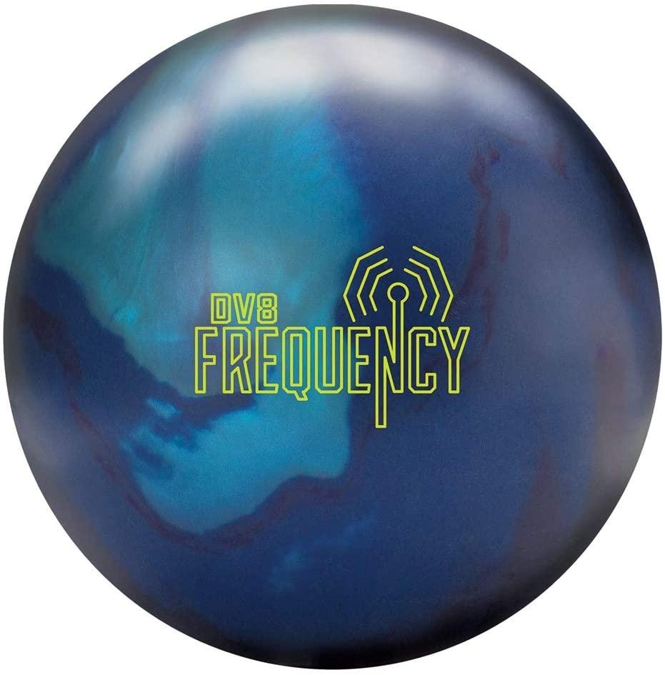 DV8 Frequency Bowling Ball- Navy/Purple/Crimson