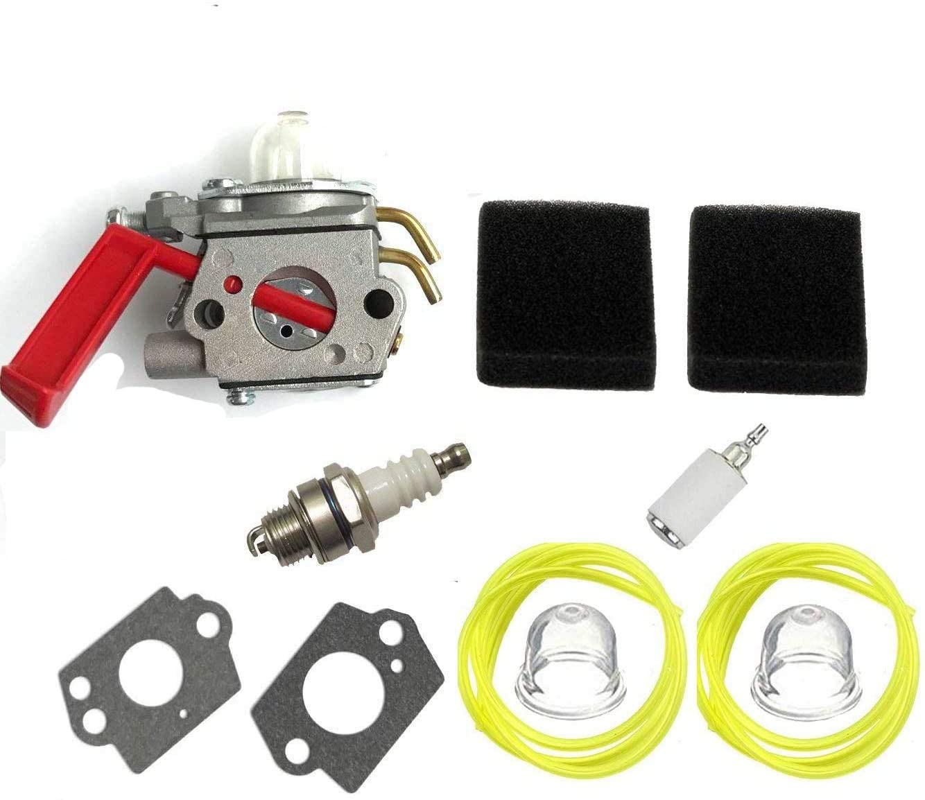 HQParts Carburetor Carb for ZAMA C1U-H47 C1U-H39A UP00608A UP00608 UP00021 B25C BC2500R D725CD D825SB F2020 F3040 F3050