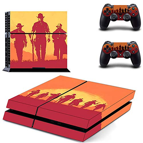 Gaming - PS4 Skin Console and 2 Controller, Vinyl Decal Sticker Full Cover Protective by Mr Wonderful Skin