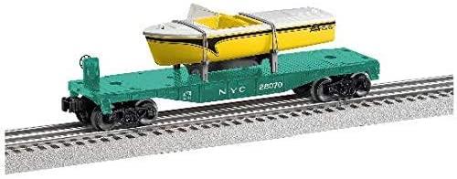 NYC Flat CAR W/Boat Load