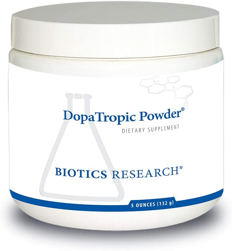Biotics Research DopaTropic Powder Dopamine, Easy-to-Mix Powder, Neurotransmitter Health, Emotional Support, Cognitive Health, Memory & Learning, Mucuna pruriens 5 Ounces