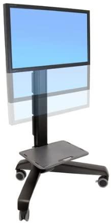 Ergotron, Neo-Flex Mobile Mediacenter Ld Cart For Lcd Display Black Screen Size: 27