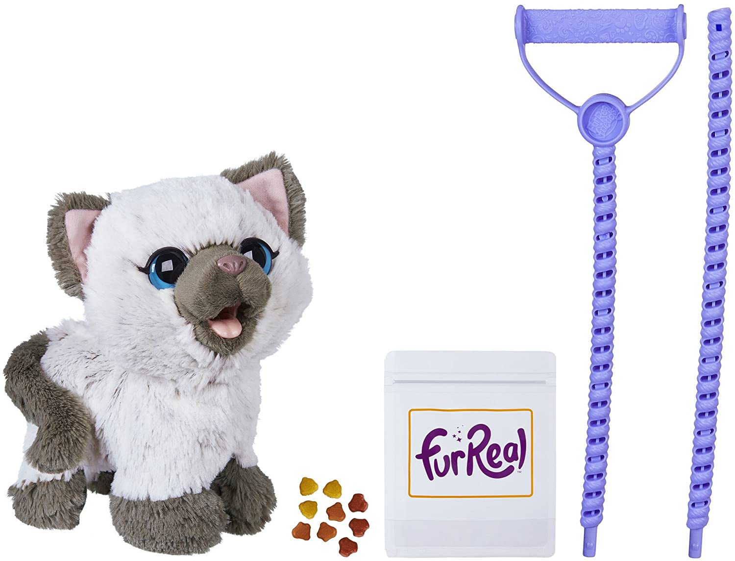 FurReal Friends Kami My Poopin Kitty Plush