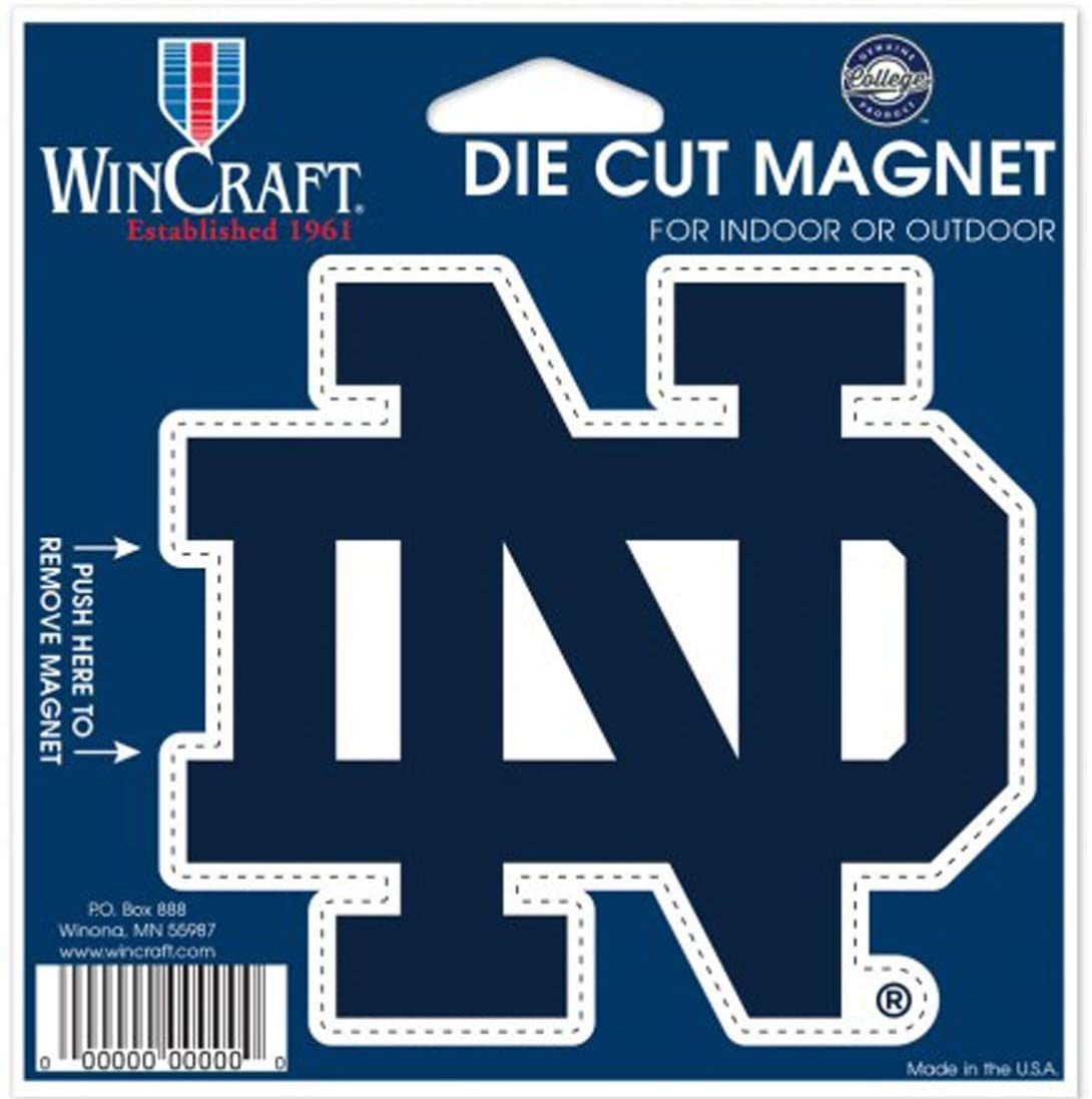 WinCraft University of Notre Dame Outdoor Magnet, Small