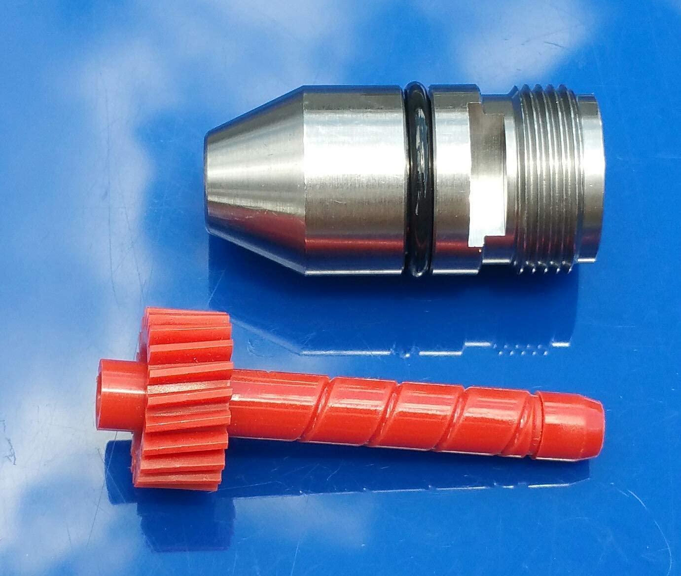GM TURBO 350 TH350 MUNCIE POWERGLIDE TRANSMISSION SPEEDOMETER GEAR 21 TEETH RED SPEEDO W/BULLET