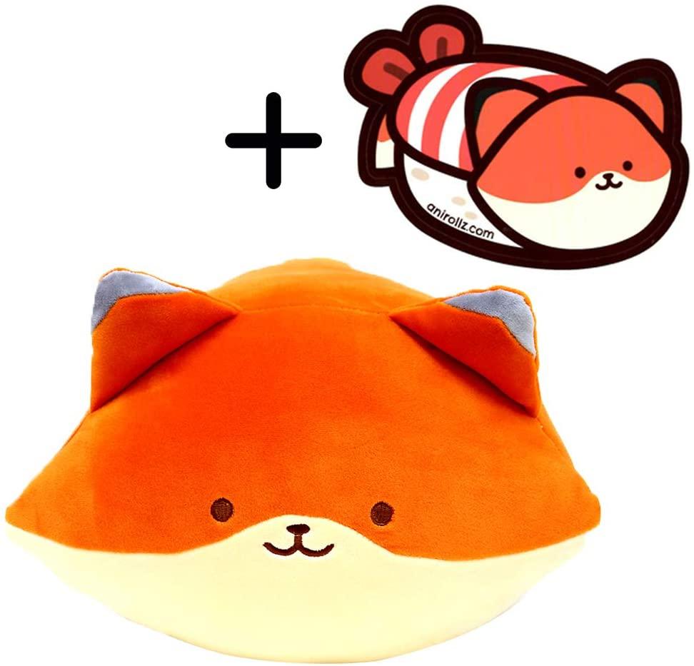 Anirollz Coosy Mochi Soft Squishy Large Plush Doll (Foxiroll)