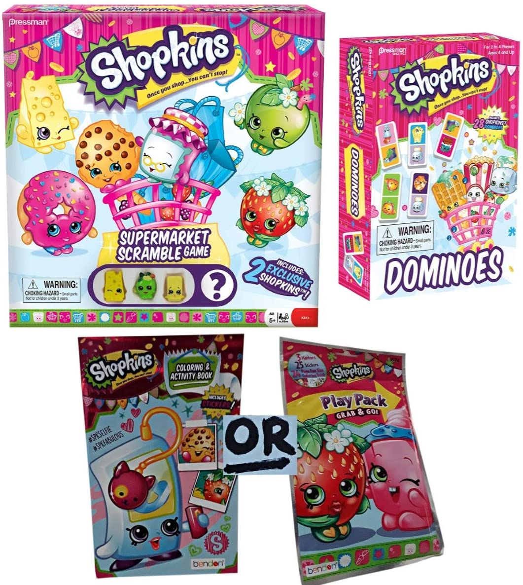 Grocery Shopping Triple Play of Fun Toy Surprise Bundle Gift Pack