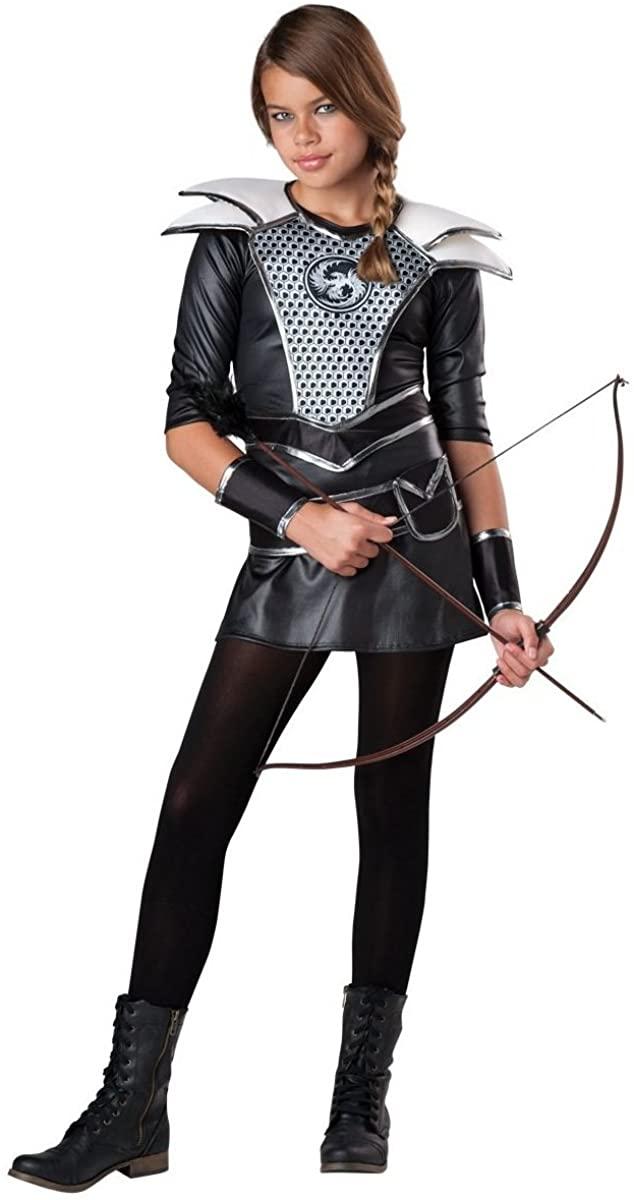InCharacter Midnight Huntress Girls Costume