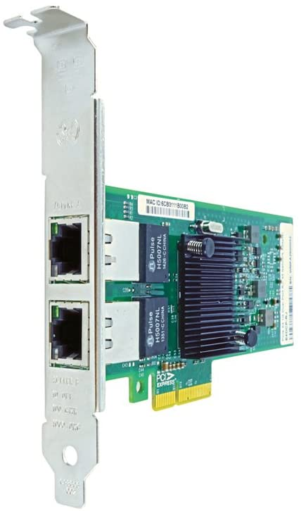 Axiom 430-3544-AX Network Adapter - PCIe 2.1 x4 - Gigabit Ethernet x 2 - for Dell PowerEdge 29XX, R805, T100, T300, PowerVault DL2000, Precision T3500, T5500, T7500