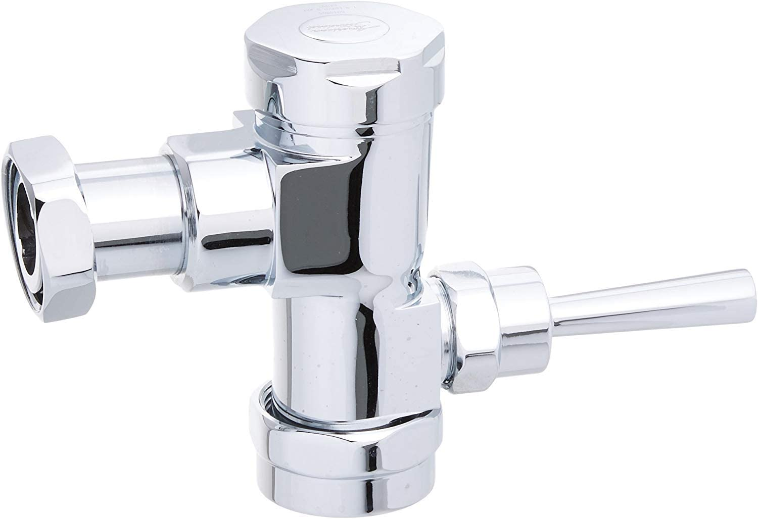 American Standard 6045.510.002 Exposed Manual Flowise 1.0 Gpf Urinal Flush Valve Only for Retrofit, Polished Chrome