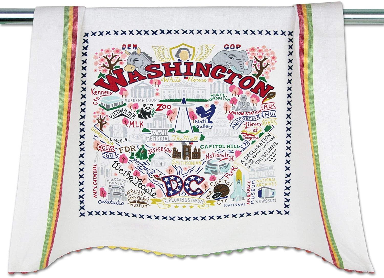 catstudio Washington DC Dish & Hand Towel | Great for Kitchen, Bar, Bathroom