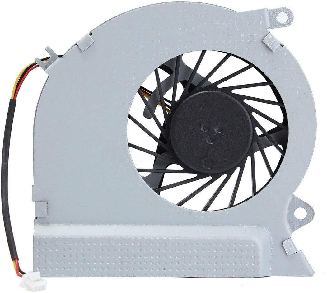 CAQL CPU Cooling Fan for MSI GE70 Series: GE70 0NC, GE70 0ND, GE70 2OC, GE70 2OD, GE70 2OE, GE70 0NC-003US 0ND-032US 0ND-212US, MS-1756 MS-1757 MS-1759, P/N: PAAD06015SL-N039 PAAD06015SL-N285