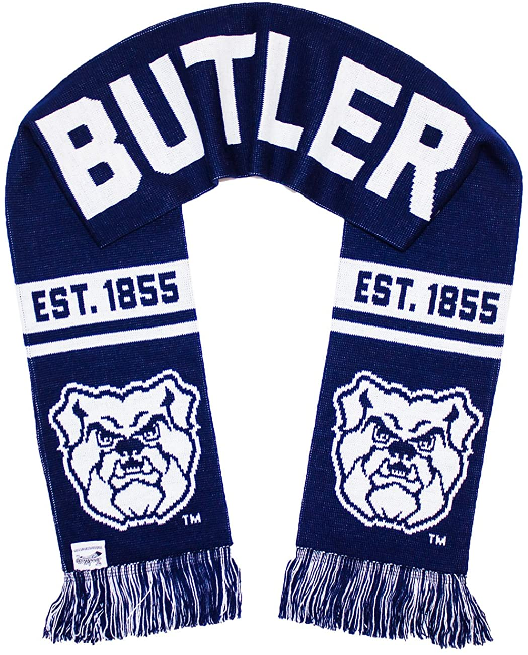 Tradition Scarves Butler University Scarf - Butler Bulldogs Knitted Classic