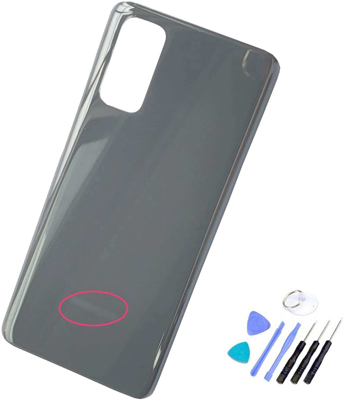 Ubrokeifixit Compatible Housing Rear Glass Back Cover Replacement for Samsung Galaxy S20 6.2