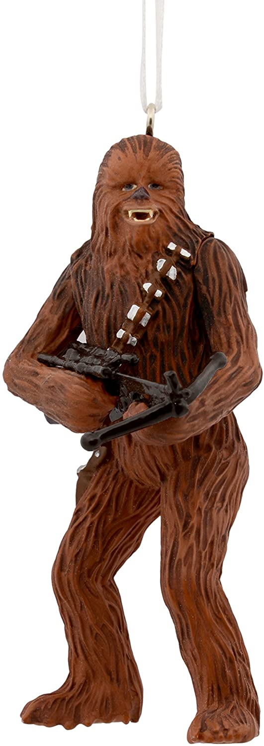 Hallmark Christmas Ornament Star Wars Chewbacca with Bowcaster