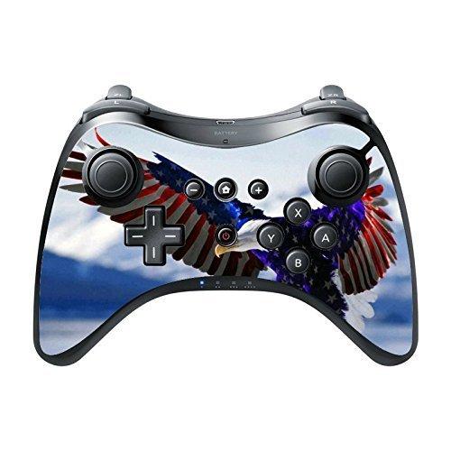 > > > Decal STICKER < < < American Flag Eagle Design Print Image Wii U Pro Controller Vinyl Decal Sticker Skin by Trendy Accessories by Trendy Accessories