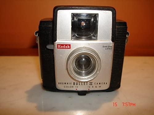 Vintage Kodak Brownie Bullet II Camera w/Dakon Lens - Baklite