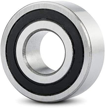 BBH Double Row Deep Groove Ball Bearing 4204 2RS TN 20x47x18 mm|Material - Chrome Steel | Pre-Lubricated and Stable Performance and Cost-Effective
