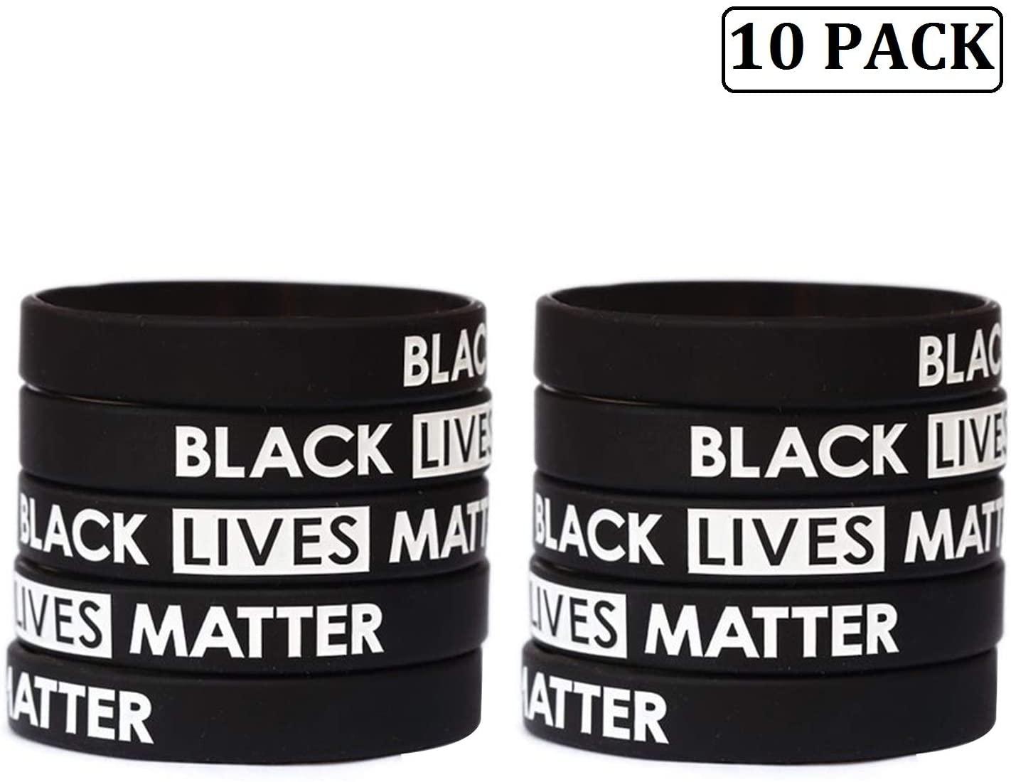 Black Lives Matter Wristband Bracelets Silicone Bracelet