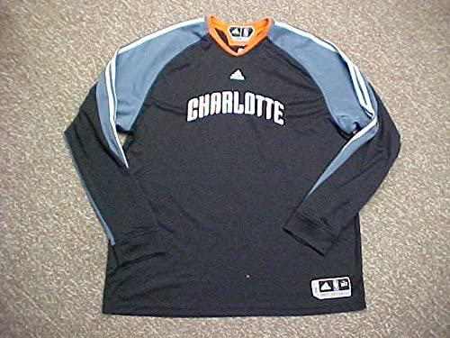 Derrick Brown Charlotte Bobcats 2009-10 L/S Game Worn Shooting Shirt