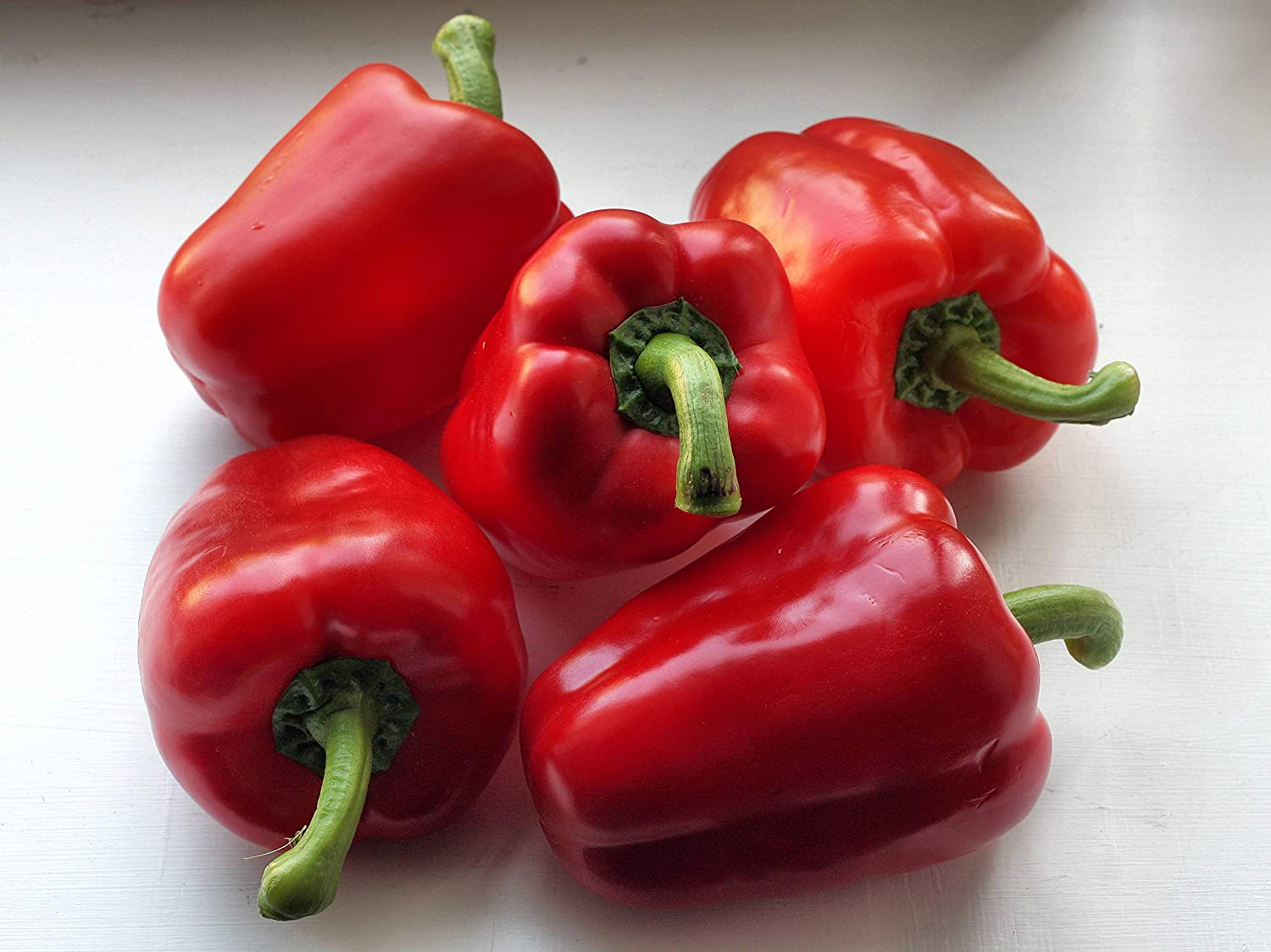 Big Red Bell Pepper Seeds, 50+ Premium Organic Heirloom Seeds, Fantastic Addition to Home Garden!, (Isla's Garden Seeds) Non GMO - 90% Germination, Highest Quality, 100% Pure