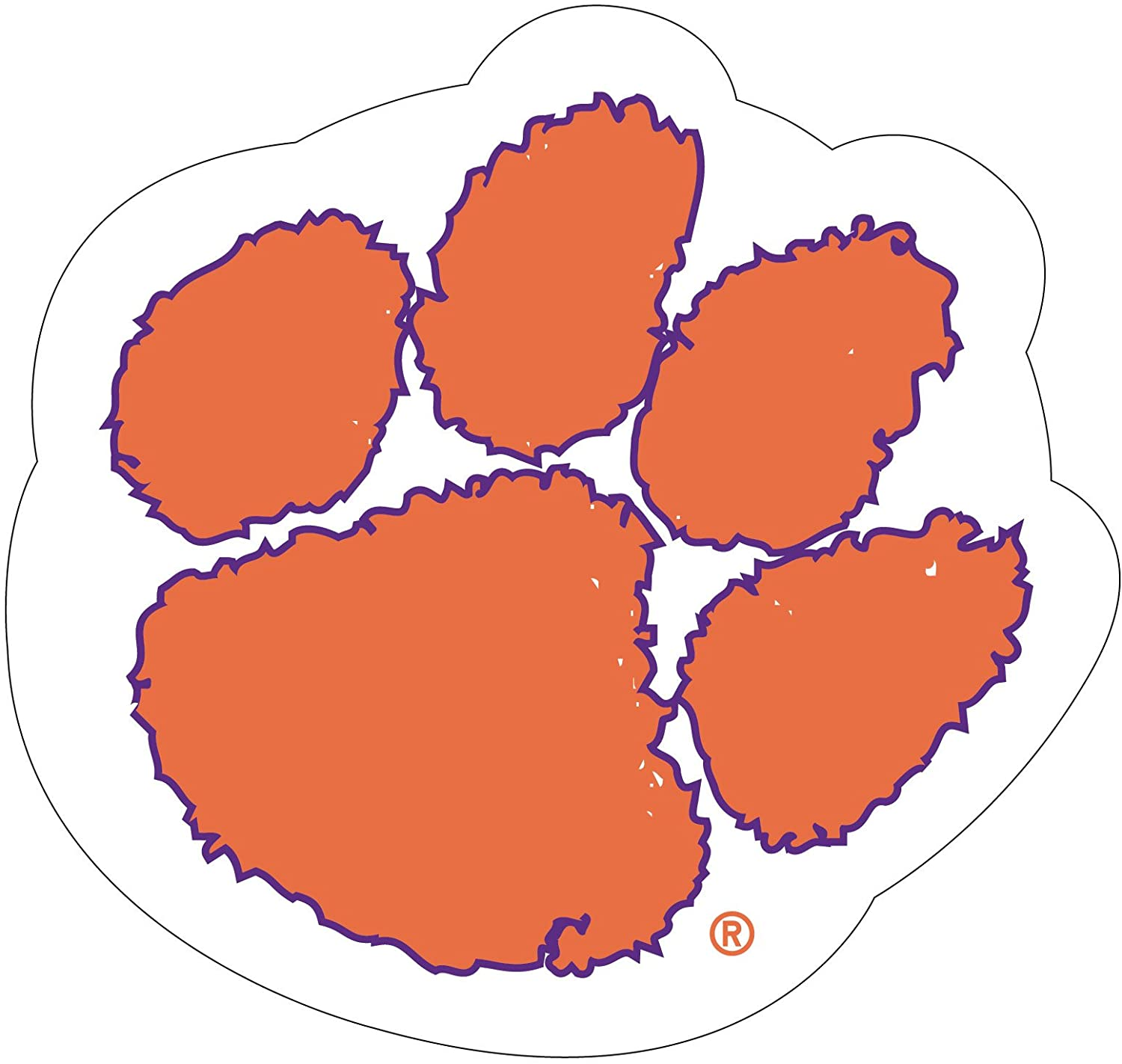 Clemson Tigers Mascot Magnet-Clemson Tigers Magnet-Perfect for Your CAR OR Any Metal Surface