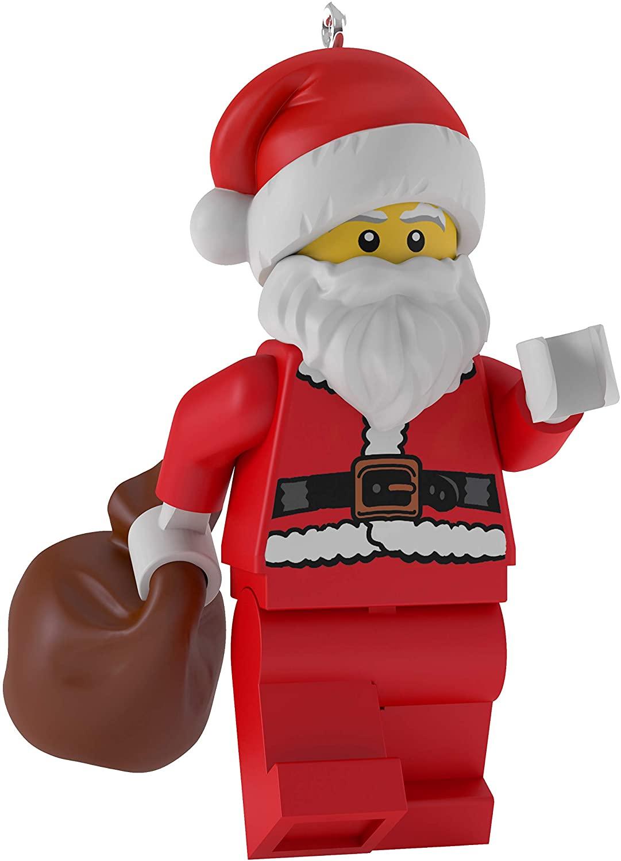 Hallmark Keepsake Ornament 2019 Year Dated Lego Santa Claus Minifigure Christmas