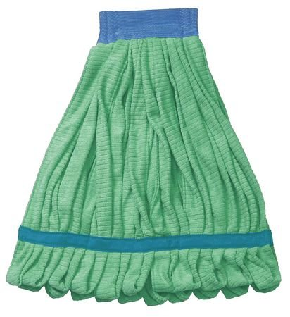 Tough Guy Tube Mop, Small, Green, 11 In. - 6DML6