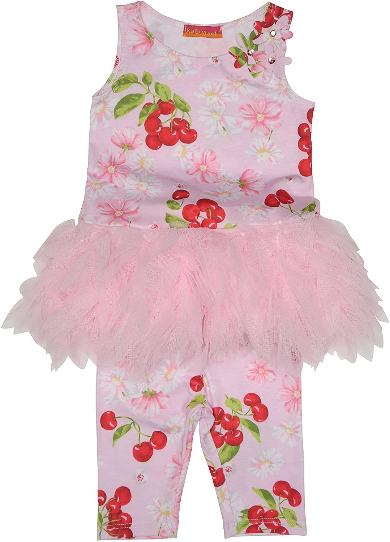 Kate Mack Baby Girls Infant Cherries Jubilee Tunic & Capri Legging