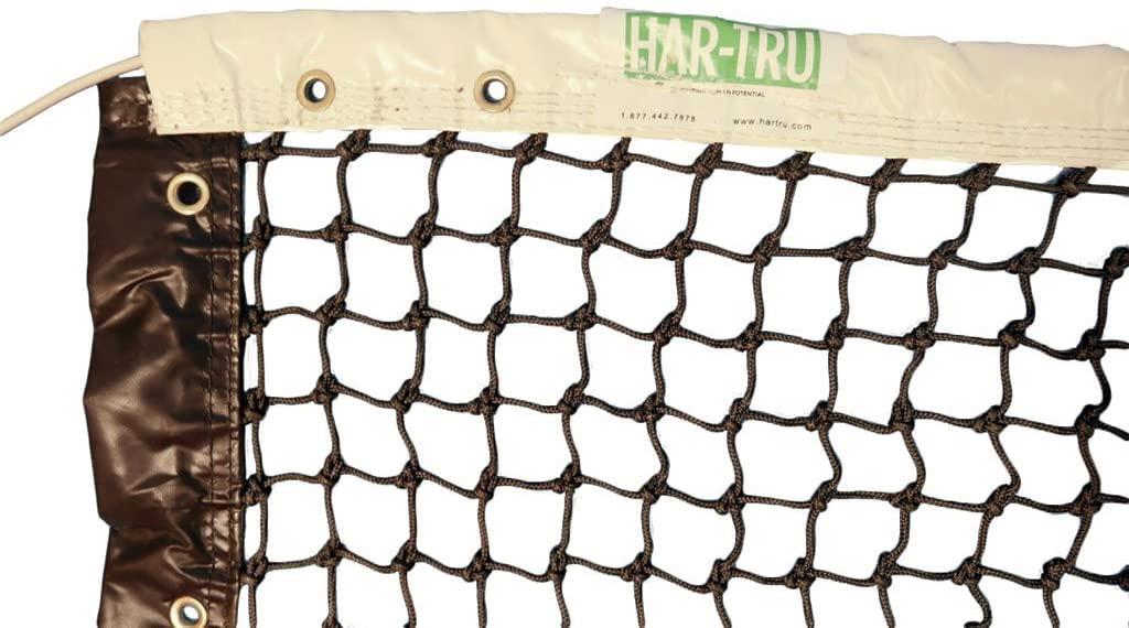 Har-Tru Revolution Single-Braided Polyester Tennis Net