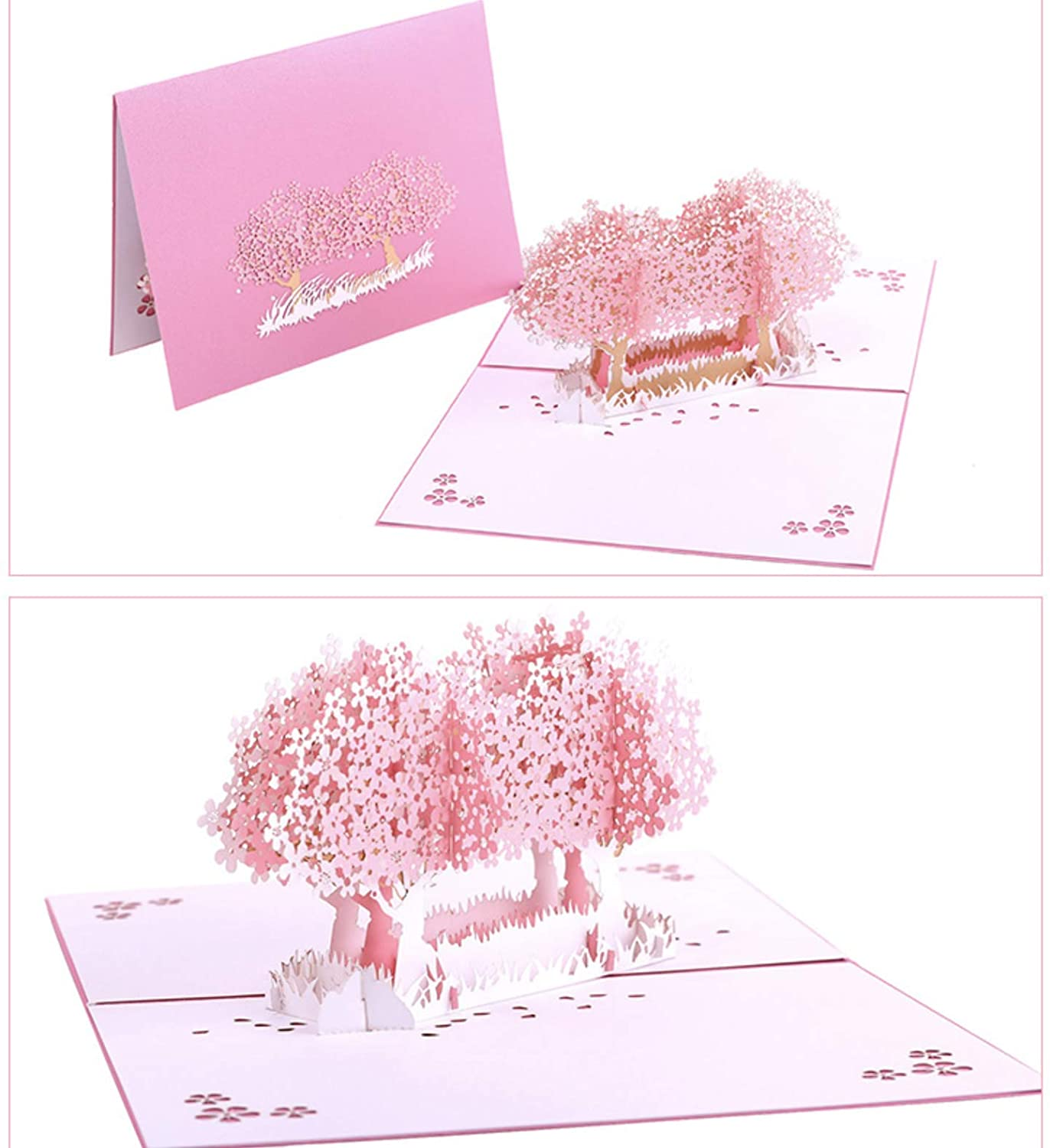 American Greetings Greatest Gift Anniversary Greeting Card with 3D Pop Up Cherry Blossom Card. Envelope included